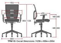 TEAM PLUS Mesh Operators Chair